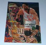 1995-96 Fleer Miami Heat Basketball Card #235 Alonzo Mourning